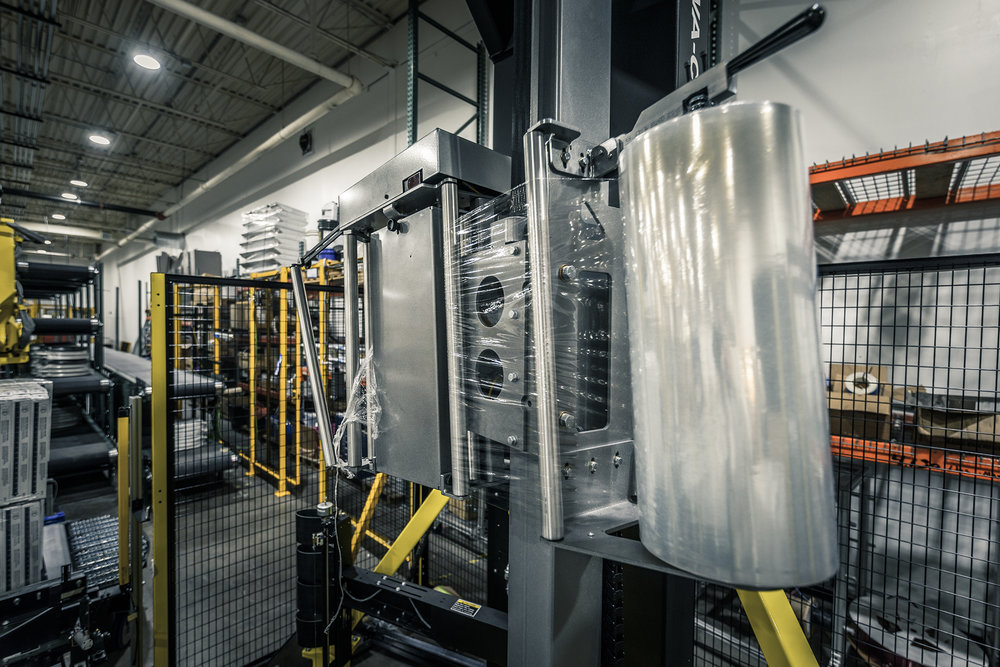 Palletizing & Stretch Wrapping Systems